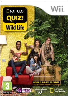 Immagine della copertina del gioco NatGeo Quiz! Wild Life per Nintendo Wii