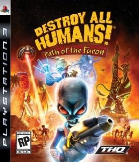 Copertina del gioco Destroy All Humans! path of the furon per PlayStation 3