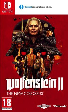 Immagine della copertina del gioco Wolfenstein II: The New Colossus per Nintendo Switch