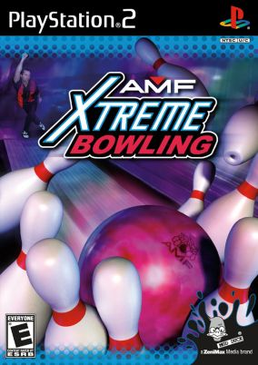 Immagine della copertina del gioco AMF Extreme Bowling 2006 per PlayStation 2