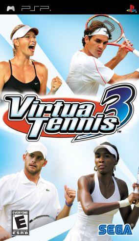 Immagine della copertina del gioco Virtua Tennis 3 per PlayStation PSP