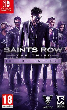 Copertina del gioco Saints Row: The Third per Nintendo Switch