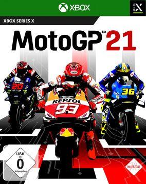 Copertina del gioco MotoGP 21 per Xbox Series X