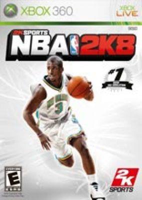 Copertina del gioco NBA 2K8 per Xbox 360
