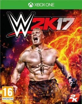 Immagine della copertina del gioco WWE 2K17 per Xbox One