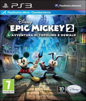 Immagine della copertina del gioco Epic Mickey 2: L'Avventura di Topolino e Oswald per PlayStation 3