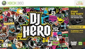 Copertina del gioco DJ Hero per Xbox 360