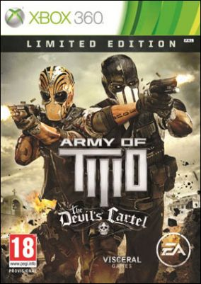 Copertina del gioco Army of Two: The Devil's Cartel per Xbox 360