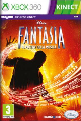 Immagine della copertina del gioco Disney Fantasia: Il Potere della Musica per Xbox 360
