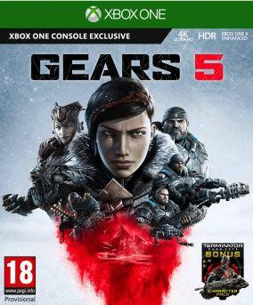 Immagine della copertina del gioco Gears 5 per Xbox One