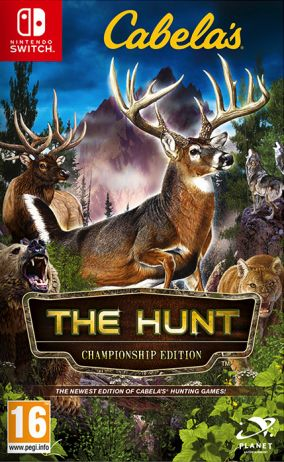 Copertina del gioco Cabela's The Hunt: Championship Edition per Nintendo Switch