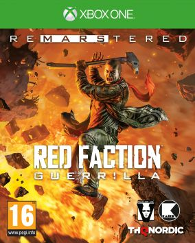 Copertina del gioco Red Faction Guerrilla Re-Mars-tered per Xbox One