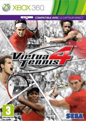 Copertina del gioco Virtua Tennis 4 per Xbox 360