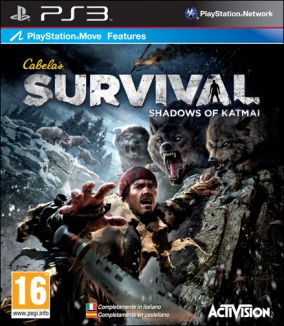 Copertina del gioco Cabela's Survival: Shadows of Katmai per PlayStation 3