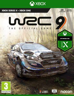 Copertina del gioco WRC 9 per Xbox One