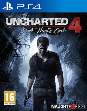 Immagine della copertina del gioco Uncharted 4: A Thief's End per PlayStation 4