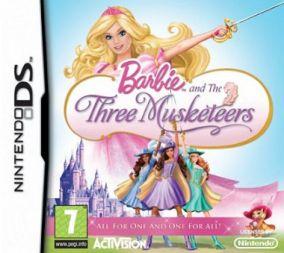 Immagine della copertina del gioco Barbie & Le 3 Moschettiere per Nintendo DS