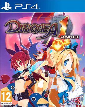 Immagine della copertina del gioco Disgaea 1 Complete per PlayStation 4