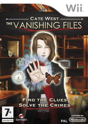 Immagine della copertina del gioco Cate West: The Vanishing Files per Nintendo Wii