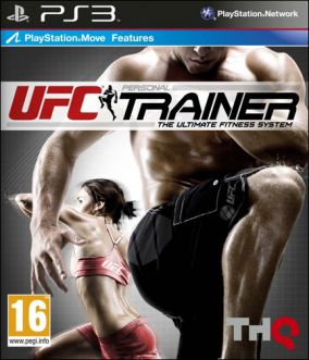 Copertina del gioco UFC Personal Trainer: The Ultimate Fitness System per PlayStation 3
