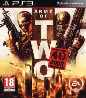 Copertina del gioco Army of Two: 40 Day per PlayStation 3