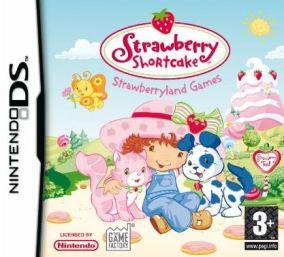 Immagine della copertina del gioco Strawberry Shortcake - Strawberryland Games per Nintendo DS