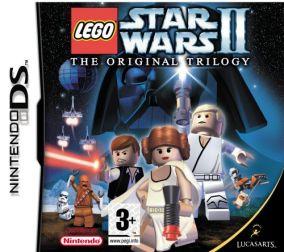 Immagine della copertina del gioco LEGO Star Wars II: La Trilogia Classica per Nintendo DS