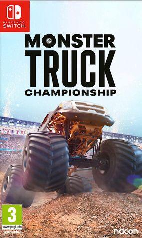 Copertina del gioco Monster Truck Championship per Nintendo Switch