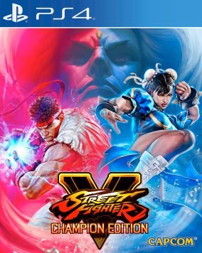 Copertina del gioco Street Fighter V: Champion Edition per PlayStation 4