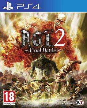 Copertina del gioco Attack on Titan 2: Final Battle per PlayStation 4