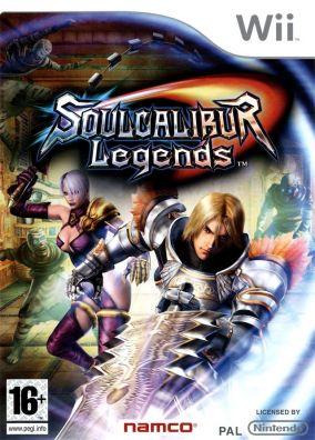 Immagine della copertina del gioco Soul Calibur Legends per Nintendo Wii