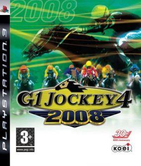 Immagine della copertina del gioco G1 Jockey 4 2008 per PlayStation 3