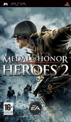 Immagine della copertina del gioco Medal of Honor Heroes 2 per Playstation PSP