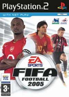 Copertina del gioco Fifa 2005 per PlayStation 2