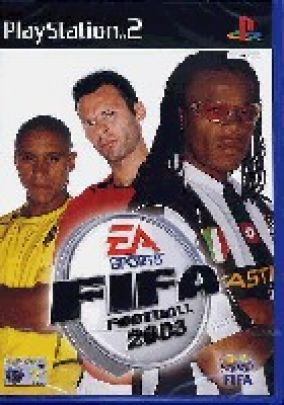 Copertina del gioco Fifa football 2003 per PlayStation 2