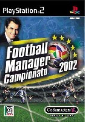 Copertina del gioco Football Manager Campionato 2002 per PlayStation 2