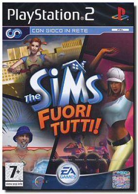 Copertina del gioco The Sims: Fuori Tutti per PlayStation 2