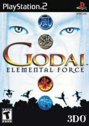 Copertina del gioco Godai Elemental Force per PlayStation 2