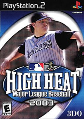 Copertina del gioco High Heat Major League Baseball 2003 per PlayStation 2