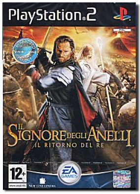 Copertina del gioco Il signore degli anelli - Il ritorno del re per PlayStation 2
