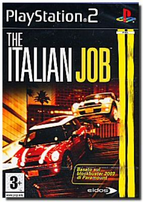 Copertina del gioco The Italian Job per PlayStation 2