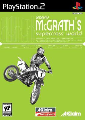 Copertina del gioco Jeremy McGrath Supercross World per PlayStation 2