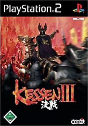 Immagine della copertina del gioco Kessen 3 per PlayStation 2