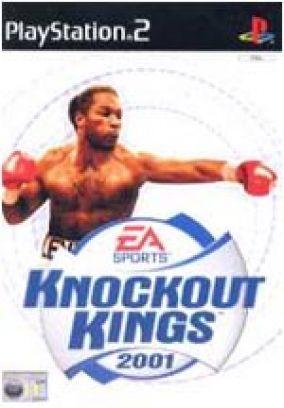 Immagine della copertina del gioco Knockout Kings 2001 per PlayStation 2