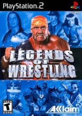 Copertina del gioco Legends of Wrestling per PlayStation 2