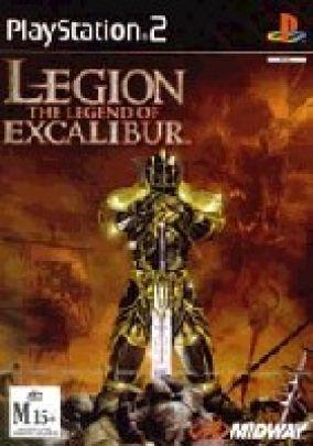Copertina del gioco Legion the legend of excalibur per PlayStation 2