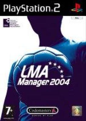 Copertina del gioco LMA Manager 2004 per PlayStation 2
