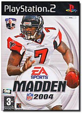 Copertina del gioco Madden NFL 2004 per PlayStation 2