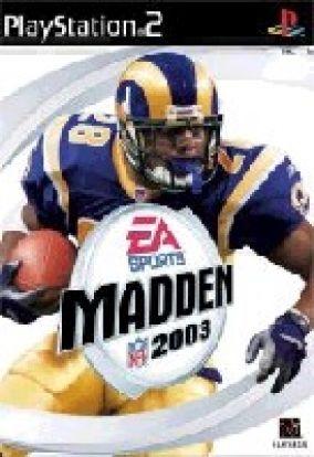 Copertina del gioco Madden NFL 2003 per PlayStation 2