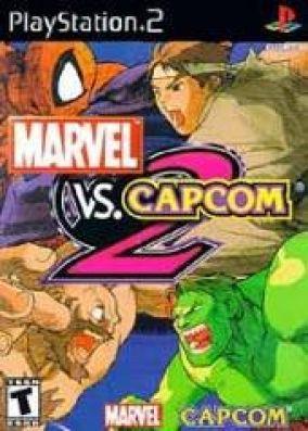 Copertina del gioco Marvel VS Capcom 2: New Age of Heroes per PlayStation 2